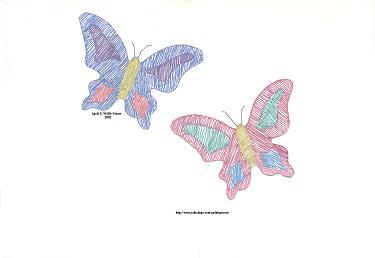 April S. Walls-Stuart - butterflies