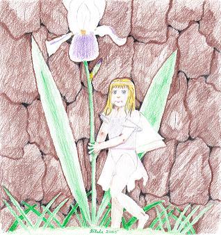 April S. Walls-Stuart - Iris Fae