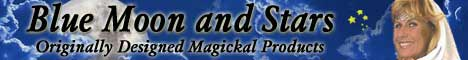 Blue Moon and Stars - Originally designed magickal products