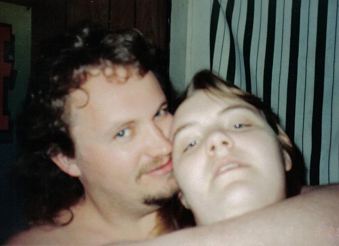 Darkholm & Katcha self picture taken March 2001